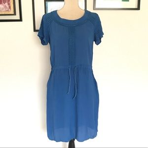 Anthropologie nümph blue mini dress  size M